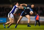 29 October 2018; Kevin McManamon of St Jude's in action against Andrew McGowan of Kilmacud Crokes during the Dublin County Senior Club Football Championship Final match between St Jude's and Kilmacud Crokes at Parnell Park in Dublin. Photo by Daire Brennan/Sportsfile