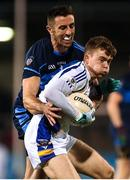 29 October 2018; Cian O'Connor of Kilmacud Crokes in action against Séamus Ryan of St Jude's during the Dublin County Senior Club Football Championship Final match between St Jude's and Kilmacud Crokes at Parnell Park in Dublin. Photo by Daire Brennan/Sportsfile