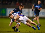 29 October 2018; Paul Mannion of Kilmacud Crokes in action against Niall O'Shea of St Jude's during the Dublin County Senior Club Football Championship Final match between St Jude's and Kilmacud Crokes at Parnell Park in Dublin. Photo by Daire Brennan/Sportsfile