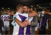 29 October 2018; Paul Mannion, left, and Cian O'Sullivan of Kilmacud Crokes celebrate after the Dublin County Senior Club Football Championship Final match between St Jude's and Kilmacud Crokes at Parnell Park in Dublin. Photo by Daire Brennan/Sportsfile