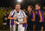 29 October 2018; Paul Mannion of Kilmacud Crokes celebrates after the Dublin County Senior Club Football Championship Final match between St Jude's and Kilmacud Crokes at Parnell Park in Dublin. Photo by Daire Brennan/Sportsfile