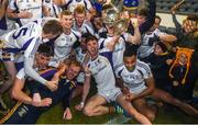 29 October 2018; Andrew McGowan of Kilmacud Crokes and team-mates celebrate after the Dublin County Senior Club Football Championship Final match between St Jude's and Kilmacud Crokes at Parnell Park in Dublin. Photo by Daire Brennan/Sportsfile