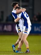 29 October 2018; Andrew McGowan, left, and Kevin Dyas of Kilmacud Crokes celebrate after the Dublin County Senior Club Football Championship Final match between St Jude's and Kilmacud Crokes at Parnell Park in Dublin. Photo by Daire Brennan/Sportsfile