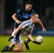 29 October 2018; Shane Cunningham of Kilmacud Crokes in action against Padraic Clarke of St Jude's during the Dublin County Senior Club Football Championship Final match between St Jude's and Kilmacud Crokes at Parnell Park in Dublin. Photo by Daire Brennan/Sportsfile