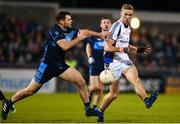29 October 2018; Paul Mannion of Kilmacud Crokes in action against Kevin McManamon of St Jude's during the Dublin County Senior Club Football Championship Final match between St Jude's and Kilmacud Crokes at Parnell Park in Dublin. Photo by Daire Brennan/Sportsfile
