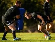 30 October 2018; Michael Bent, left, and Bryan Byrne during Leinster Rugby squad training at UCD in Dublin. Photo by Ramsey Cardy/Sportsfile