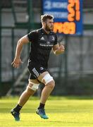 30 October 2018; Caelan Doris during Leinster Rugby squad training at UCD in Dublin. Photo by Ramsey Cardy/Sportsfile