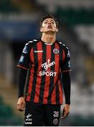 30 October 2018; Christian Mageruson of Bohemians during the SSE Airtricity U19 League Final match between Shamrock Rovers and Bohemians at Tallaght Stadium, in Dublin. Photo by Harry Murphy/Sportsfile