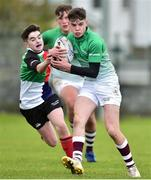 31 October 2018; Tadgh Walsh of South East Area is tackled by Daniel O'Connor of Midlands Area during the U16s 2nd Round Shane Horgan Cup match between South East Area and Midlands Area at IT Carlow in Carlow. Photo by Matt Browne/Sportsfile