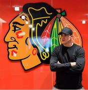 31 October 2018; Garry Ringrose of Ireland during a visit to the MB Ice Arena, practice home of the Chicago Blackhawks, in Chicago, USA. Photo by Brendan Moran/Sportsfile