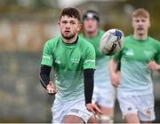 31 October 2018; Cian Leonard of South East Area during the U18s 2nd Round Shane Horgan Cup match between South East Area and Midlands Area at IT Carlow in Carlow. Photo by Matt Browne/Sportsfile