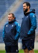 1 November 2018; Defence coach Andy Farrell, right, with kicking coach Richie Murphy during Ireland rugby squad training session at Toyota Park in Chicago, USA. Photo by Brendan Moran/Sportsfile