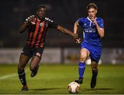 1 November 2018; Samuel Ayoola of Bohemians in action against Darragh Reilly of St. Patrick's Athletic during the SSE Airtricity U15 League Final match between Bohemians and St. Patrick's Athletic at Dalymount Park in Dublin. Photo by Harry Murphy/Sportsfile