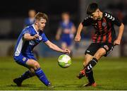 1 November 2018; Len O'Sullivan of Bohemians in action against Lee Kenny of St. Patrick's Athletic during the SSE Airtricity U15 League Final match between Bohemians and St. Patrick's Athletic at Dalymount Park in Dublin. Photo by Harry Murphy/Sportsfile