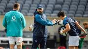 2 November 2018; Defence coach Andy Farrell during the Ireland rugby captain's run at Soldier Field in Chicago, USA. Photo by Brendan Moran/Sportsfile