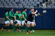 2 November 2018; Tadhg Furlong during the Ireland rugby captain's run at Soldier Field in Chicago, USA. Photo by Brendan Moran/Sportsfile