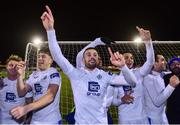 2 November 2018; Finn Harps players celebrate after the SSE Airtricity League Promotion / Relegation Play-off Final 2nd leg match between Limerick FC and Finn Harps at Market's Field in Limerick. Photo by Matt Browne/Sportsfile