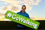 1 November 2018; In attendance at the launch of Ireland Lights Up with the GAA in partnership with RTÉ's Operation Transformation and Get Ireland Walking is Karl Henry, Operation Transformation, at Ballyboughal GAA Healthy Club in Dublin. In a bid to make exercise more accessible on the dark winter nights, 'Ireland Lights Up' will see participating clubs turn on their floodlights/lighting systems between 7-pm-9pm each Thursday for a five-week period (January 17th – February 21st  2019) as Operation Transformation returns to our screens in the New Year. Photo by Sam Barnes/Sportsfile