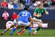 3 November 2018; Will Addison of Ireland in action against Jimmy Tuivaiti of Italy during the International Rugby match between Ireland and Italy at Soldier Field in Chicago, USA. Photo by Brendan Moran/Sportsfile