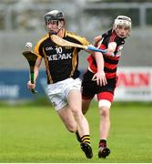 4 November 2018; Pierse Lillis of Ballyea in action against Mikey Mahony of Ballygunner during the AIB Munster GAA Hurling Senior Club Championship semi-final match between Ballyea and Ballygunner at Walsh Park in Waterford. Photo by Matt Browne/Sportsfile