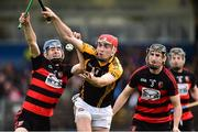 4 November 2018; Niall Deasy of Ballyea in action against Eddie Hayden, left, Barry Coughlan of Ballygunner during the AIB Munster GAA Hurling Senior Club Championship semi-final match between Ballyea and Ballygunner at Walsh Park in Waterford. Photo by Matt Browne/Sportsfile