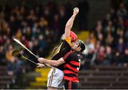 4 November 2018; Niall Deasy of Ballyea in action against Barry Coughlan of Ballygunner during the AIB Munster GAA Hurling Senior Club Championship semi-final match between Ballyea and Ballygunner at Walsh Park in Waterford. Photo by Matt Browne/Sportsfile