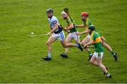 4 November 2018; Conor Boylan of Na Piarsaigh is chased by Clonoulty / Rossmore players, from left, Jimmy Ryan Con, Dillon Quirke and Seán O'Connor during the AIB Munster GAA Hurling Senior Club Championship semi-final match between Na Piarsaigh and Clonoulty / Rossmore at the Gaelic Grounds in Limerick. Photo by Piaras Ó Mídheach/Sportsfile