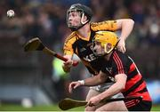 4 November 2018; Jack Browne of Ballyea in action against Conor Power of Ballygunner during the AIB Munster GAA Hurling Senior Club Championship semi-final match between Ballyea and Ballygunner at Walsh Park in Waterford. Photo by Matt Browne/Sportsfile