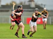 4 November 2018; Philip Mahony of Ballygunner in action against Pierse Lillis of Ballyea during the AIB Munster GAA Hurling Senior Club Championship semi-final match between Ballyea and Ballygunner at Walsh Park in Waterford. Photo by Matt Browne/Sportsfile
