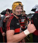 4 November 2018; Conor Power of Ballygunner celebrates after the AIB Munster GAA Hurling Senior Club Championship semi-final match between Ballyea and Ballygunner at Walsh Park in Waterford. Photo by Matt Browne/Sportsfile