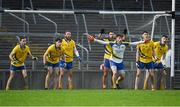 4 November 2018; The Nire goalkeeper Diarmuid Murphy and his team mates await a freekick from Hugh Bourke of Adare during the AIB Munster GAA Football Senior Club Championship quarter-final match between Adare and The Nire at the Gaelic Grounds in Limerick. Photo by Piaras Ó Mídheach/Sportsfile