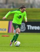 7 November 2018; Jessica Ziu during Republic of Ireland WNT squad training at FAI National Training Centre, Abbotstown, in Dublin. Photo by Matt Browne/Sportsfile