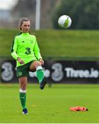 7 November 2018; Katie McCabe during Republic of Ireland WNT squad training at FAI National Training Centre, Abbotstown, in Dublin. Photo by Matt Browne/Sportsfile