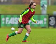 7 November 2018; Amy Boyle-Carr during Republic of Ireland WNT squad training at FAI National Training Centre, Abbotstown, in Dublin. Photo by Matt Browne/Sportsfile