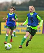 7 November 2018; Emily Kraft during Republic of Ireland WNT squad training at FAI National Training Centre, Abbotstown, in Dublin. Photo by Matt Browne/Sportsfile