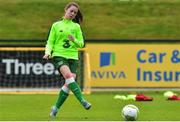 7 November 2018; Emily Whelan during Republic of Ireland WNT squad training at FAI National Training Centre, Abbotstown, in Dublin. Photo by Matt Browne/Sportsfile