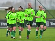 7 November 2018; Emily Kraft with her team-mates during Republic of Ireland WNT squad training at FAI National Training Centre, Abbotstown, in Dublin. Photo by Matt Browne/Sportsfile