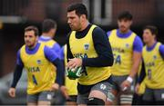8 November 2018; Guido Petti during Argentina Rugby Squad Training at Wanderers Rugby Club in Dublin. Photo by Brendan Moran/Sportsfile