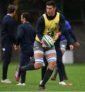 8 November 2018; Matias Alemanno during Argentina Rugby Squad Training at Wanderers Rugby Club in Dublin. Photo by Brendan Moran/Sportsfile