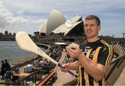 9 November 2018; Eoin Murphy, Kilkenny, in Sydney Harbour prior to the Wild Geese Cup in Sydney. Circular Quay, New South Wales, Australia  Photo by Ray McManus/Sportsfile