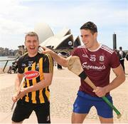 9 November 2018; Eoin Murphy, Kilkenny, and  Gearóid McInerney in Sydney Harbour prior to the Wild Geese Cup in Sydney. Circular Quay, New South Wales, Australia  Photo by Ray McManus/Sportsfile