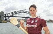 9 November 2018; Niall Burke, Galway, in Sydney Harbour prior to the Wild Geese Cup in Sydney. Circular Quay, New South Wales, Australia  Photo by Ray McManus/Sportsfile