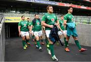 9 November 2018; Sean Cronin ahead of the Ireland rugby captains run at the Aviva Stadium in Dublin. Photo by Ramsey Cardy/Sportsfile