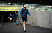 9 November 2018; Defence coach Andy Farrell ahead of the Ireland rugby captains run at the Aviva Stadium in Dublin. Photo by Ramsey Cardy/Sportsfile