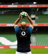 9 November 2018; Rory Best during the Ireland rugby captains run at the Aviva Stadium in Dublin. Photo by Ramsey Cardy/Sportsfile
