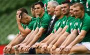 9 November 2018; Sean O'Brien and his Ireland teammates during the Ireland rugby captains run at the Aviva Stadium in Dublin. Photo by Ramsey Cardy/Sportsfile