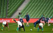 9 November 2018; Head coach Joe Schmidt during the Ireland rugby captains run at the Aviva Stadium in Dublin. Photo by Ramsey Cardy/Sportsfile