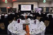 9 November 2018; A general view before the Continental Tyres Women's National League Awards at the Ballsbridge Hotel  in Dublin. Photo by Matt Browne/Sportsfile