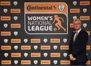 9 November 2018; FAI High Performace Director Ruud Dokter upon arrival at the Continental Tyres Women's National League Awards at the Ballsbridge Hotel in Dublin. Photo by Piaras Ó Mídheach/Sportsfile