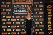 9 November 2018; Pauline Shaughnessy upon arrival at the Continental Tyres Women's National League Awards at Ballsbridge Hotel, in Dublin. Photo by Piaras Ó Mídheach/Sportsfile